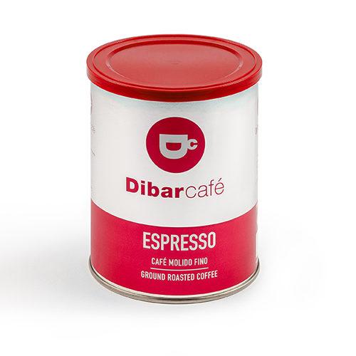 Dibarcafé Espresso 250 gram gemalen