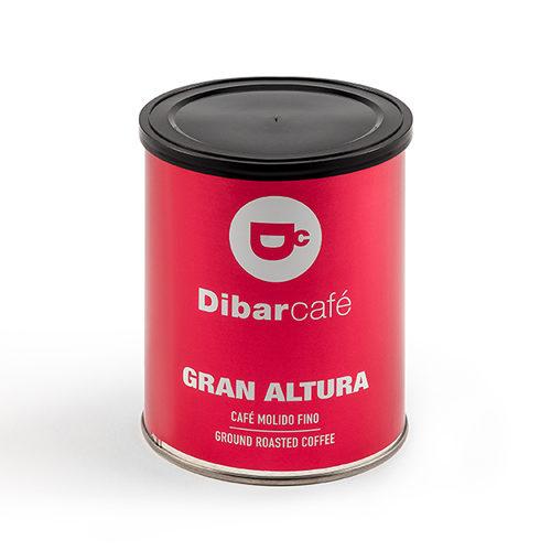Dibarcafé Gran Altura 250 gram gemalen