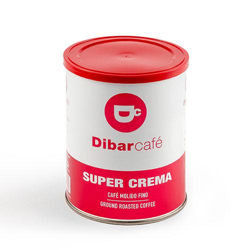 Dibarcafé Supercrema 250 gram gemalen