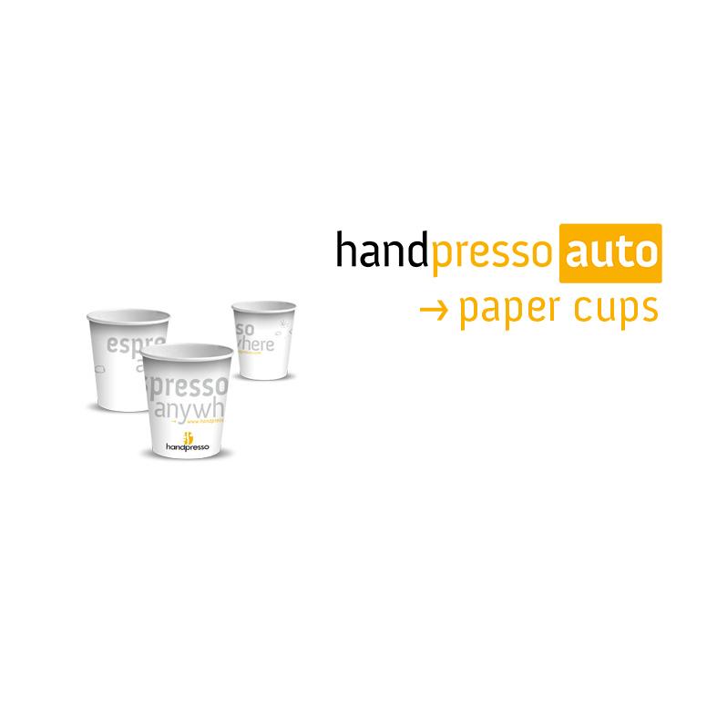 Handpresso papieren bekertjes 50 stuks