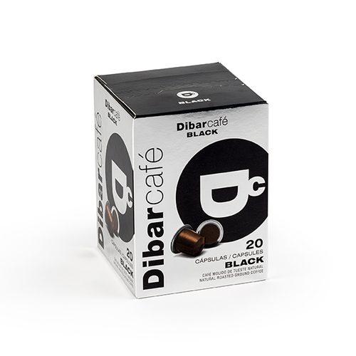 Dibarcafé Capsules Black 20 stuks