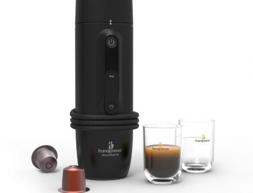Het eerste espresso capsule apparaatvoor in de auto!