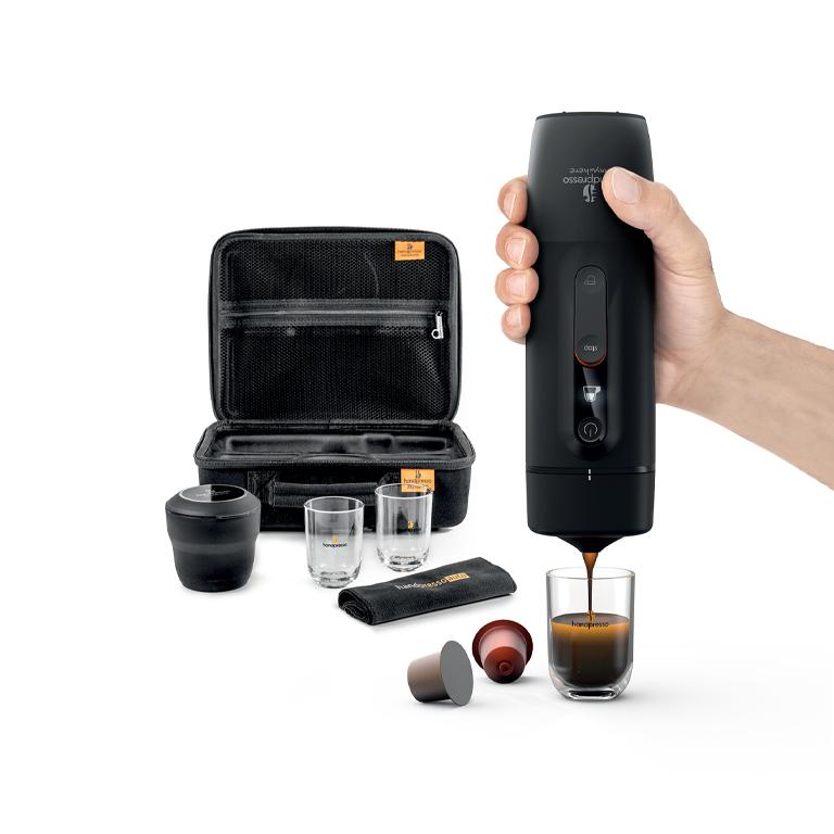 Handpresso Auto Set Capsule in hand